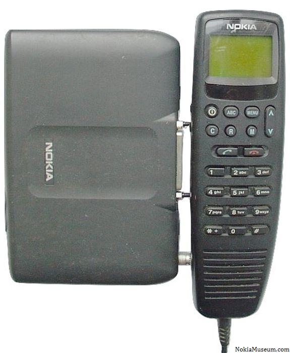 Nokia 6080 Car Phone at Nokiamuseum.com - 48.7KB